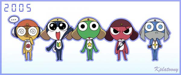 [Anime de l'enfance # Maternelle] Mon second anime ~ ! : Keroro #Anime n°2 #1er Shonen