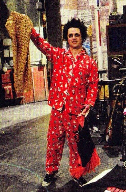 BJ et son joli pyjama haha :P