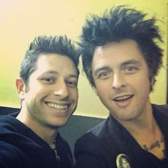 Billie Joe et un Fan