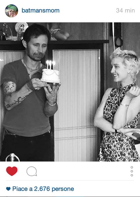 Mike et Britt pour son anniversaire le 4 mai :D