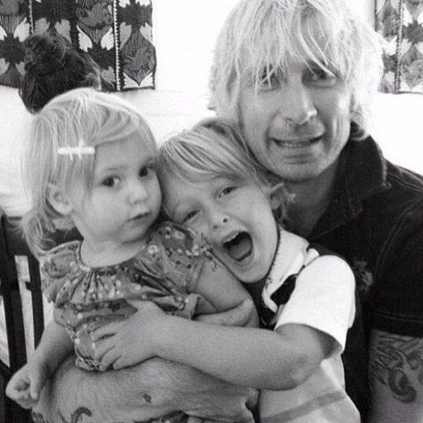 Mike  Brixton et Ryan Ruby mae  Super photo de famille !