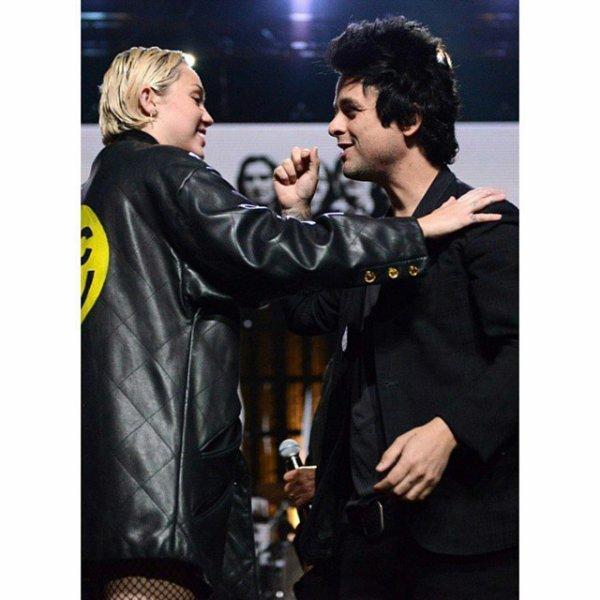 BJ et Miley Cyrus