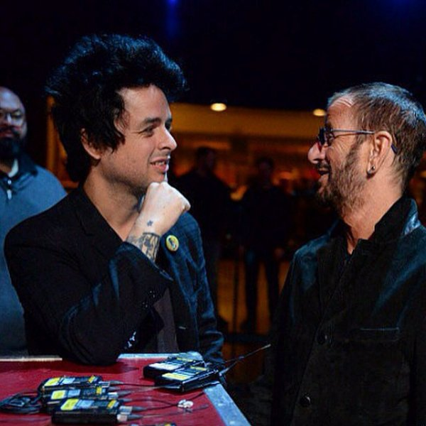 Billie Joe et Ringo starr :D