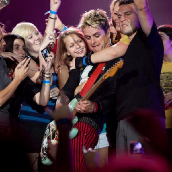 Billie Joe dans la foule