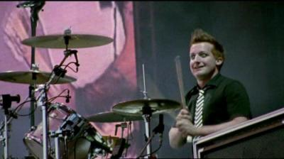 Le batteur Tré cool