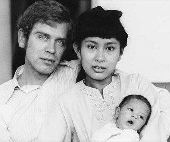Aung San Suu Kyi et Michael Aris