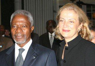 Kofi Annan & Nane Lagergen