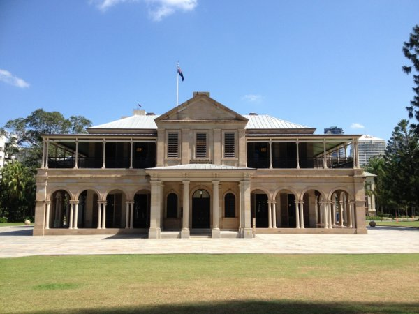 Old Government House in Brisbane, Queensland