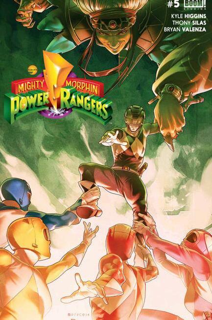 Power ranger comics 2016