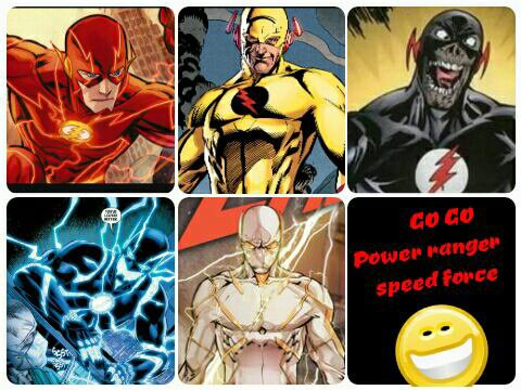 Les flash multicolore