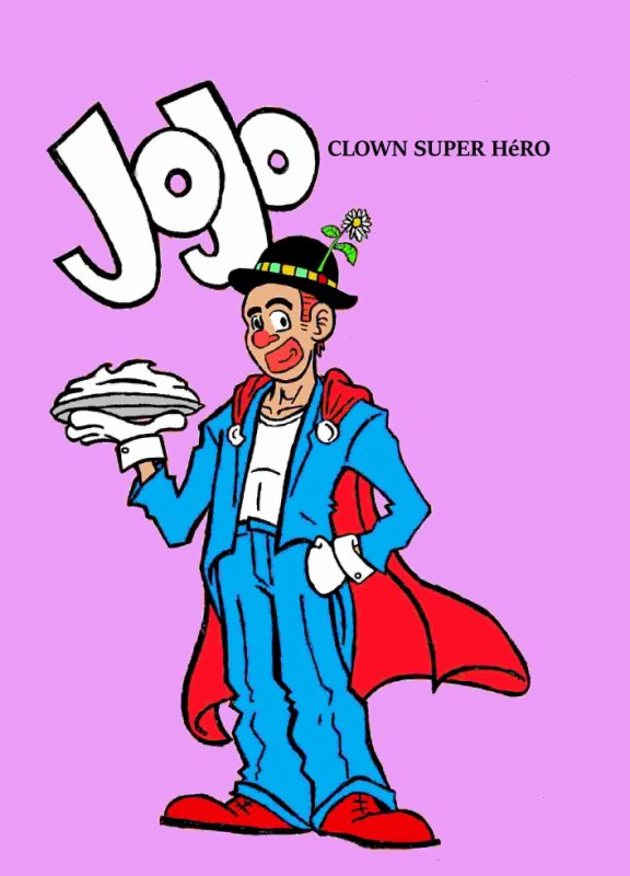 JoJo le clown super-héro