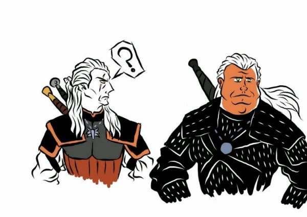 The witcher vs the witcher netflix