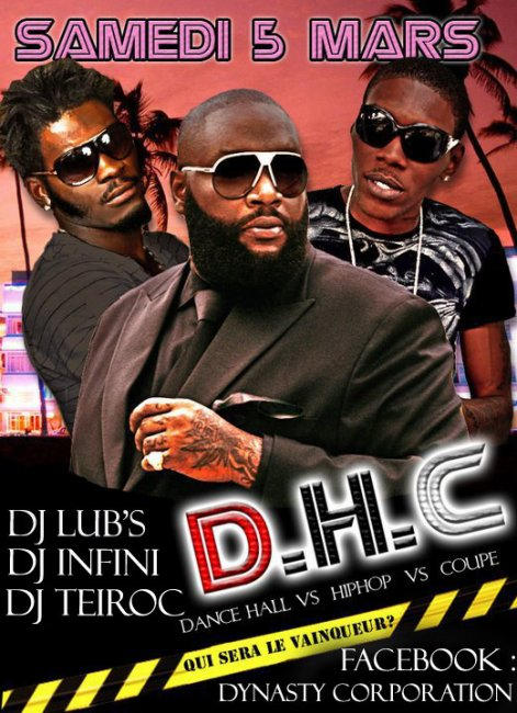 D.H.C(DANCEHALL HIP HOP COUPE DECALER MALEWA)