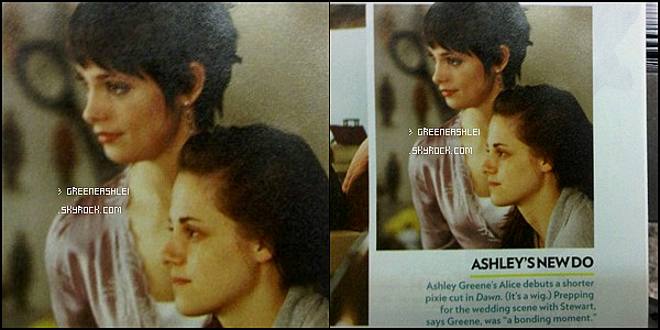 . 23/04/11. Ashley dans les rues de Vancouver  + Nouvel image de Twilight 4_____________  Nouvelle coupe spécial TOME 4 pour notre Cullen favorite ?.