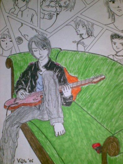my draw~~ hyde album faith