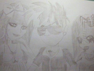 Le dessin de Jay x)