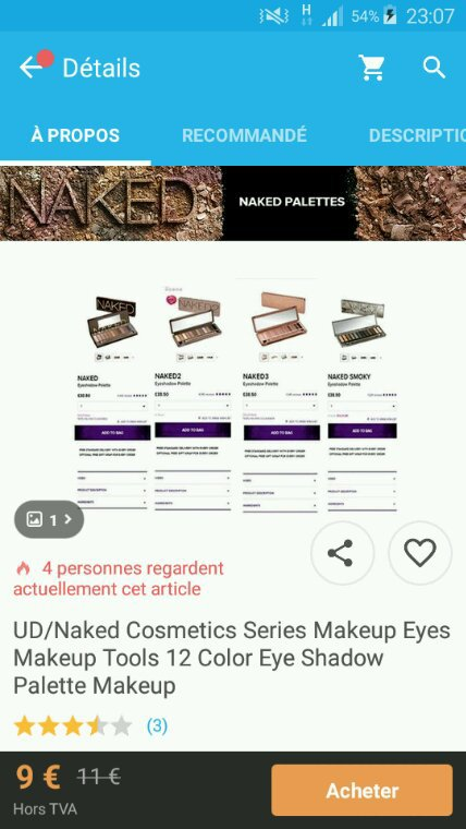 Revue: Contrefacon Naked