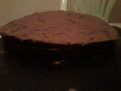 UN PLAISIR DIABOLIQUEMENT BON : LE DEVIL'S FOOD CAKE (RECETTE DE MA FILLE...AVEC GLUTEN,DONC)