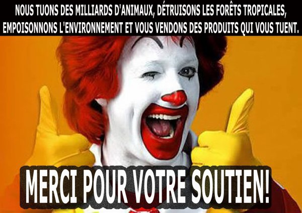 "UN MESSAGE DE ""NOTRE CLOWN FAVORI"""