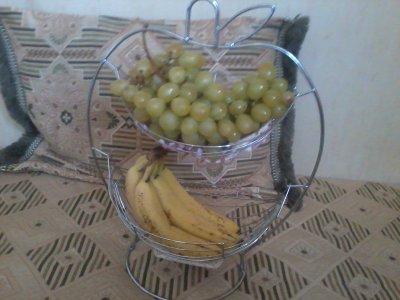 POUR DES PETITS-DEJS OU GOÛTERS SYMPAS, UN MIGNON PORTE-FRUITS