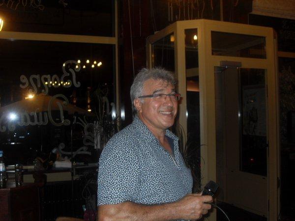 Soirée italienne à la taverne - restaurant Le Mercier, 16 août 2013