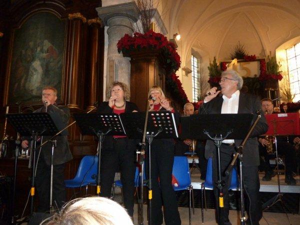 Concert de Noël du J B Band de Baudour à Neufmaison le 15 décembre 2013