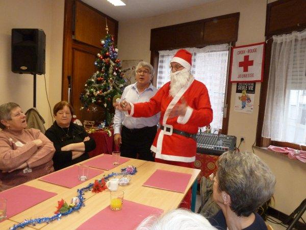 Animation pour la Croix-Rouge de Beloeil, le 17 décembre 2013