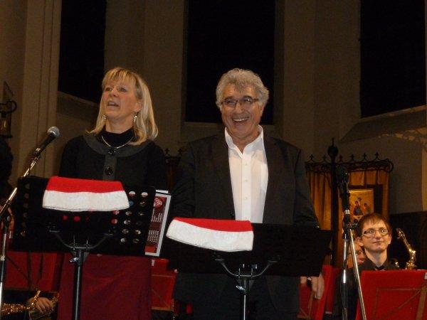 Concert de Noël du J B Band de Baudour à Flénu le 21 décembre 2013