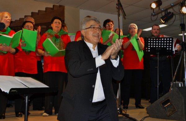 Concert de la chorale multiculturelle d'Hornu ce dimanche 11 janvier 2015