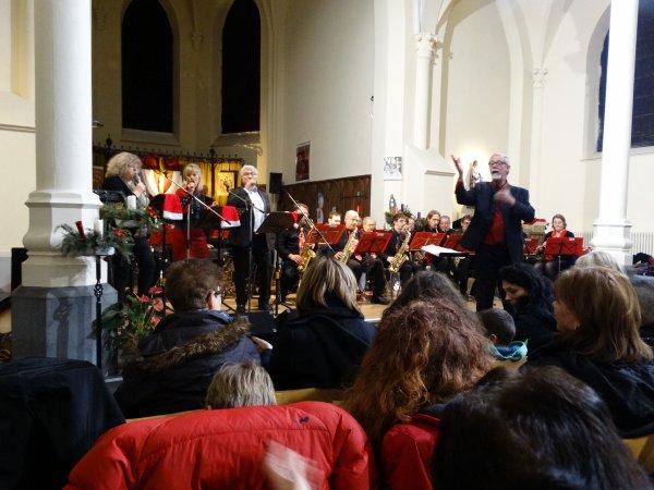 Concert du JB Band de Baudour à Flénu, le 20 décembre 2014