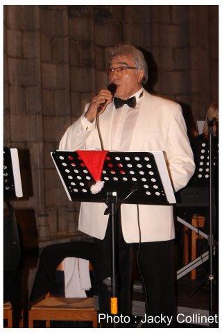 Concert de Noël du JBBand de Baudour en la Collégiale Sainte-Waudru, 20 décembre 2015