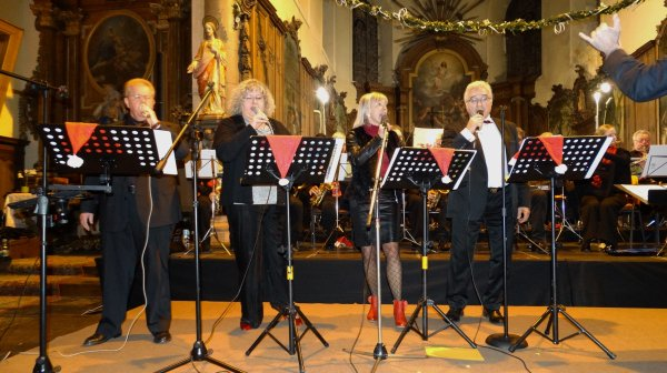Concert du JB Band de Baudour à Bois-de-Lessines, 5 décembre 2015