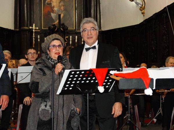 Concert de Noël du J B Band de Baudour à Thulin, 11 décembre 2014