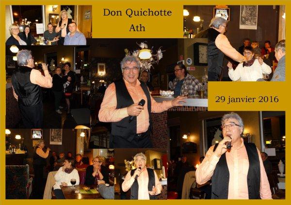 Ath, Don Quichotte de la Dendre, le 29 janvier 2016