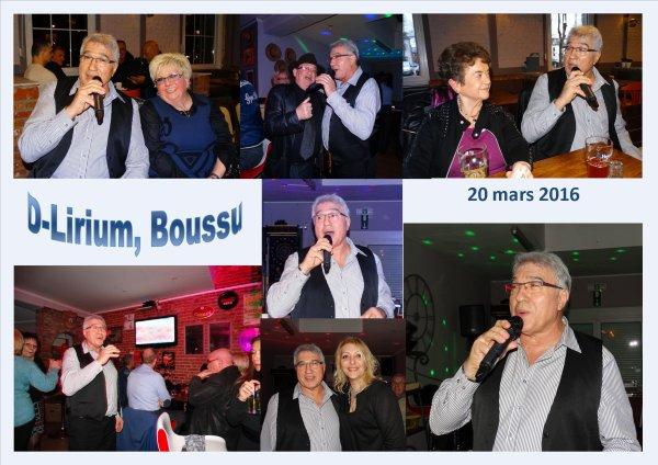 Boussu, D-Lirium, 20 mars 2016