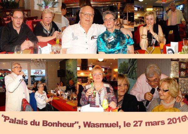 """Au """"Palais du Bonheur"""", Wasmuel, le 27 mars 2016!"""