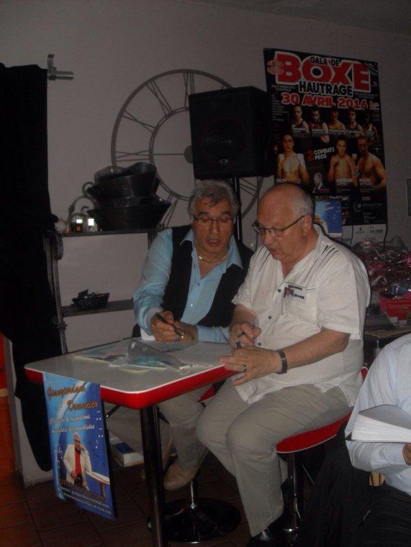Boussu, Karaoke et tour de chant de Domenico au D-Lirium, 3 juin 2016