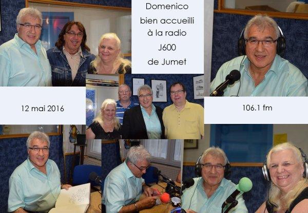 Jumet, Radio J600, 12 mai 2016