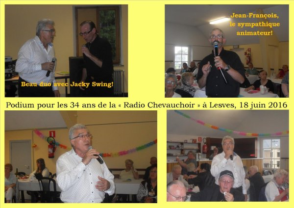 Lesves, Radio Chevauchoir, 18 juin 2016