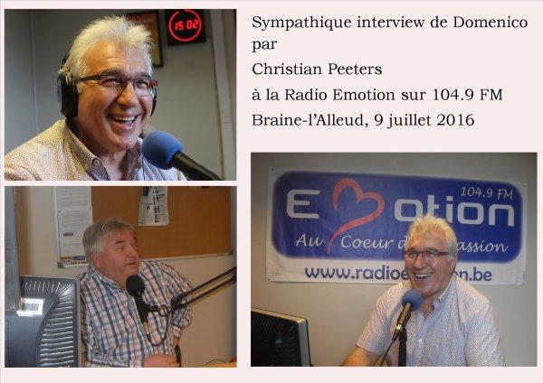 Braine-l'Alleud, Radio Emotion, 9 juillet 2016