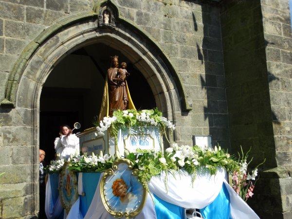 Pommeroeul, Messe de l'Assomption, 15 août 2016 à 15h