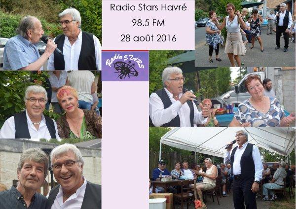 Havré, Radio Stars, 28 août 2016 à 17h