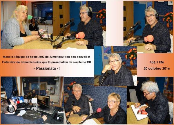 Jumet, Radio J600, 20 octobre 2016