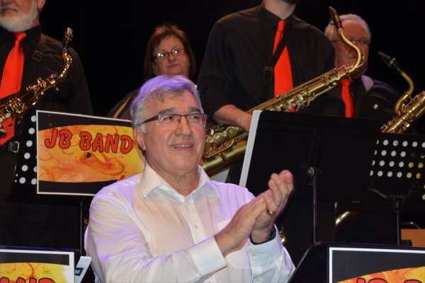 Saint-Ghislain, Concert du JBBand de Baudour et ses solistes,  18 mars 2017
