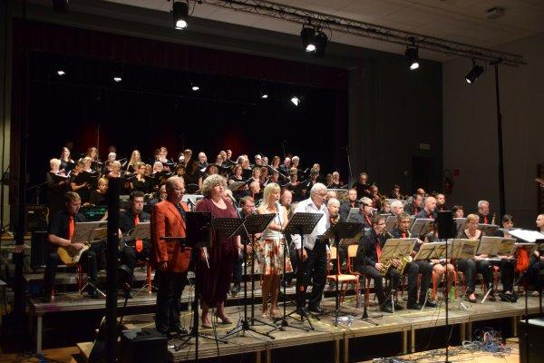 """Ath, Concert de la chorale """"Rencontre"""" d'Ath et du JBBand de Baudour, 4 juin 2017 à 16 h"""