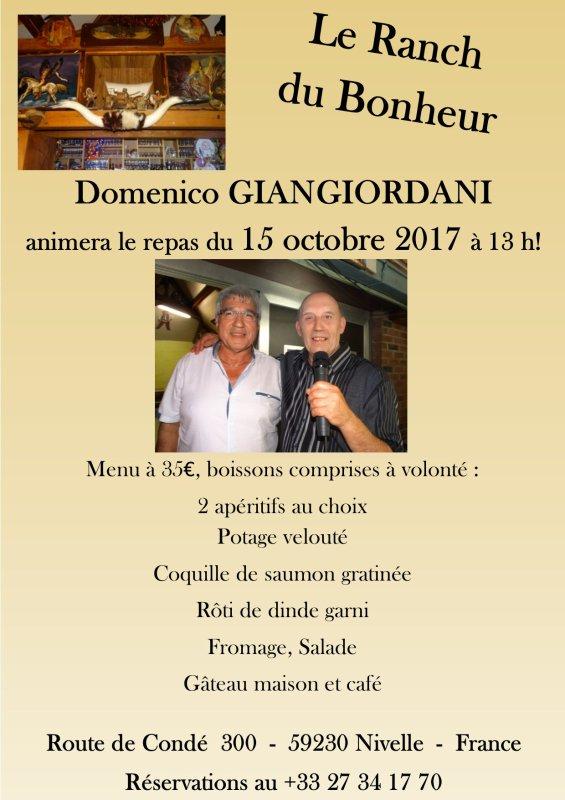France, Nivelle, Le Ranch du Bonheur, 15 octobre 2017 à 13h