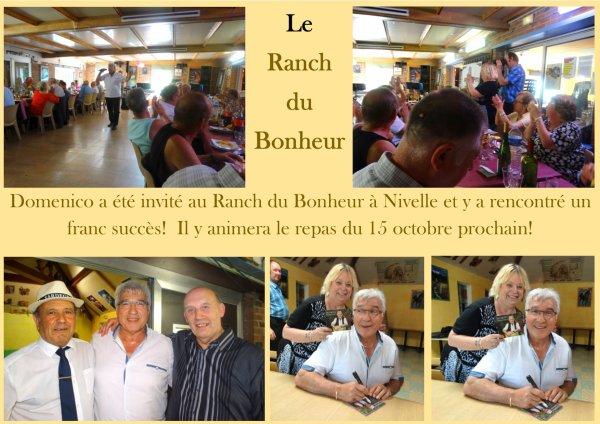 France, Nivelle, au Ranch du Bonheur, 18 juin 2017