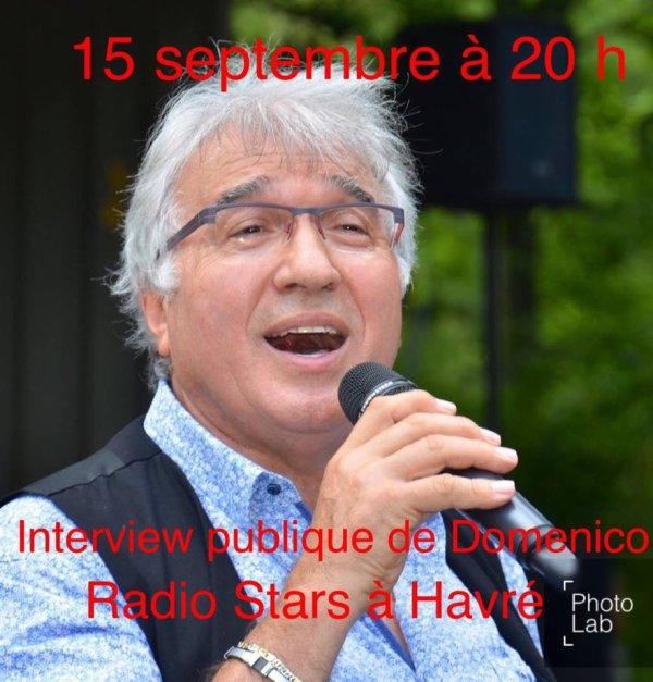 Havré, Radio Stars, 15 septembre 2017 à 20 h