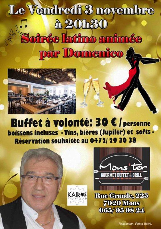 Mons, au Mons'ter, 3 novembre 2017 à 20 h 30