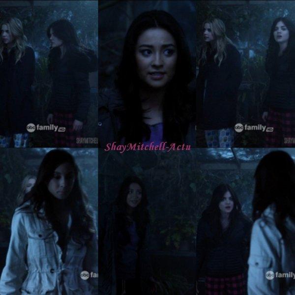 Nouvelles images de la saison 2 de Pretty Little Liars ! Vu leurs tetes sa promet d'etre super : ) , j'ai hate et vous ?